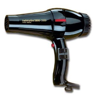 Twin Turbo Power 2800 Italian Professional Hair Blow Dryer, 1760 Watts with Extra Quiet Operation, 4 Temperature Settings with 2 Speeds and True Cold Shot Button, Features a Anti Overheating Device, Extra Wide Concentrator Nozzle, with Extra Long 9 Ft. Pow