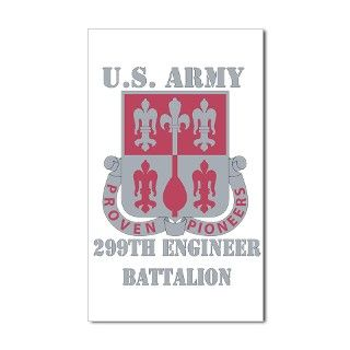 299th Engineer Battalion Decal by VeteranGraphics_Army_Battalions