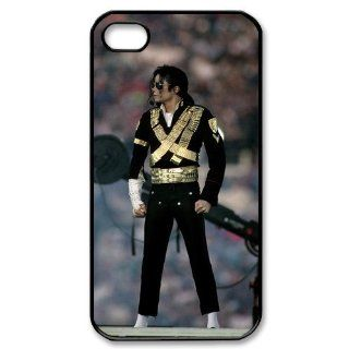 Michael Jackson Case for Iphone 4/4s Petercustomshop IPhone 4 PC00617 Cell Phones & Accessories