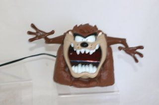 Westclox TAZ Tasmanian Devil Looney Tunes Digital Alarm Clock  Travel Alarm Clocks