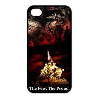 US Marine Corps Iphone 4/4S Case U.S. Marines Army The Few.The Proud Cases Cover USMC Black at NewOne Cell Phones & Accessories