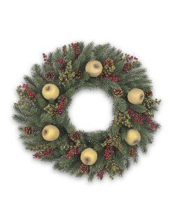 "32"" BH Vermont White Spruce Holiday Artificial Christmas Wreath   Christmas Decor"