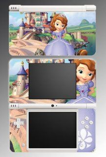 Sofia the First Princess Amber Princes James Video Game Vinyl Decal Cover Skin Protector for Nintendo DSi XL Video Games