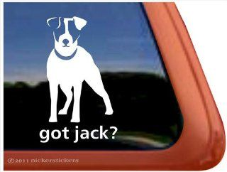 Got Jack? JRT Dog Vinyl Window Decal Sticker Automotive