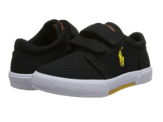 Polo Ralph Lauren Kids Faxon II EZ Boys Shoes (Black)