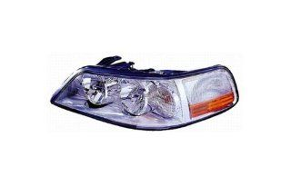 Lincoln Town Car Replacement Headlight Assembly (HID Type)   1 Pair Automotive