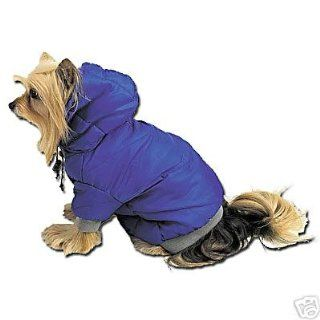 Dog Eskimo Winter Warm Jacket   Blue Color   Small Size