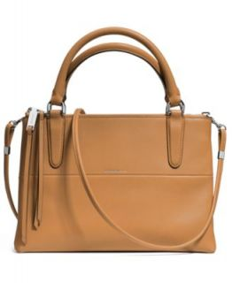 COACH BOROUGH BAG IN PEBBLED LEATHER   COACH   Handbags & Accessories