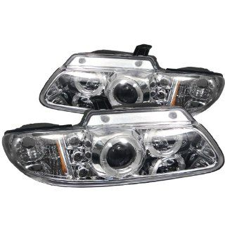 Dodge Caravan/Grand Caravan 1996 1997 1998 1999 2000 / Chrysler Town & Country 91996 1997 1998 1999 2000 / Chrysler Voyager 2000 Halo LED Projector Headlights   Chrome Automotive