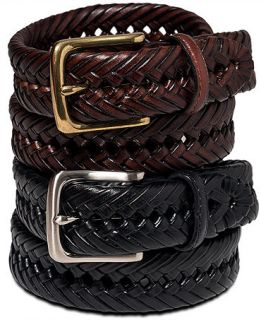 Tommy Hilfiger Braided Leather Belt   Wallets & Accessories   Men