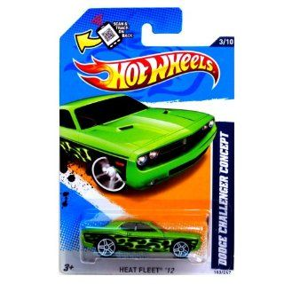 Hot Wheels 2012, Dodge Challenger Concept, Heat Fleet '12, #153/247. 164 Scale. Toys & Games