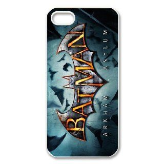 Custom Batman Logo Personalized Cover Case for iPhone 5 5S LS 231 Cell Phones & Accessories