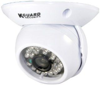 KGUARD SecurityInc. CAM KIT HD227CPK 600TVL 65 Feet Night Vision Indoor Day and Night Dome Camera (White)  Diy Cam Kit  Camera & Photo