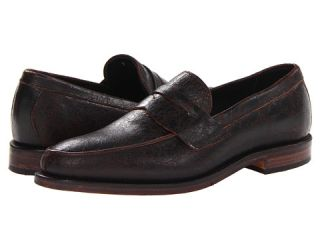 Allen Edmonds Modesto Dark Brown Crackle Leather