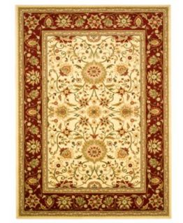 MANUFACTURERS CLOSEOUT Safavieh Rugs, Lyndhurst LNH331A Ivory/Red   Rugs