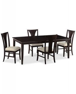 Edgewater 5 Piece Dining Table Set (Table & 4 Side Chairs)   Furniture