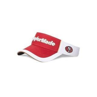 Taylor Made 2012 NFL Visor   San Francisco 49ers  Sports Fan Visors  Sports & Outdoors