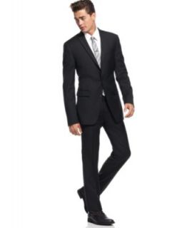 Bar III Suit Separates Charcoal Solid Extra Slim Fit   Suits & Suit Separates   Men