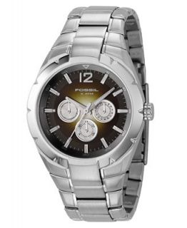 Fossil Mens Stainless Steel Bracelet Watch BQ9369   Watches   Jewelry & Watches