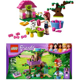 LEGO Friends Olivias Tree House & LEGO Friends Mias Puppy House Building Sets & Blocks