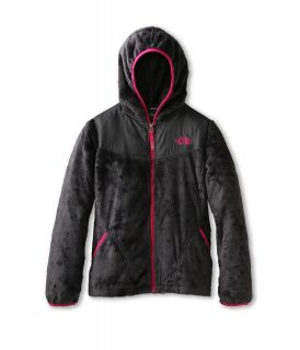 The North Face Kids Oso Hoodie (Little Kids/Big Kids) Graphite Grey/Passion Pink