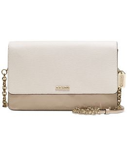 COACH CROSSTOWN BAG IN COLORBLOCK MIXED LEATHER   COACH   Handbags & Accessories