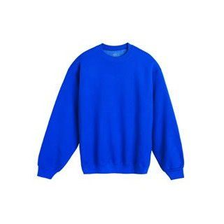Fruit of the Loom SUPERCOTTON Blended Cotton Poly Crewneck Sweat Shirt Sweatshirt Clothing