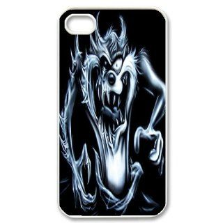Mystic Zone Customized Taz iPhone 4 Case for iPhone 4/4S Hard Cover cool Cartoon Fits Case KEK0048 Cell Phones & Accessories