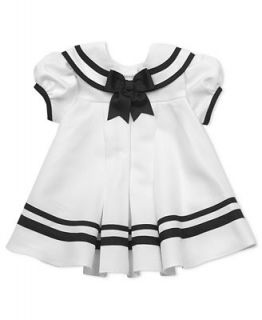 Rare Editions Baby Dress, Baby Girls Nautical Sailor Dress with Hat   Kids