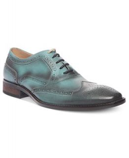 Steve Madden Mens Shoes, Persistt Wing Tip Lace Oxfords   Shoes   Men