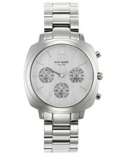 kate spade new york Watch, Womens Chronograph Brookyn Stainless Steel Bracelet 38mm 1YRU0099   Watches   Jewelry & Watches