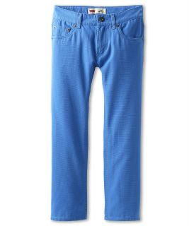 Levis Kids Boys 505 Regular Brushed Canvas Jean Big Kids Blue Moon