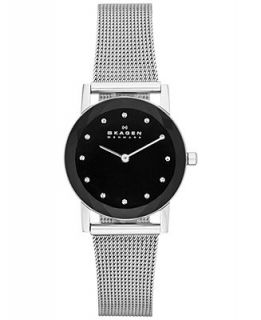 Skagen Denmark Watch, Womens Stainless Steel Mesh Bracelet 27mm SKW2133   A Exclusive   Watches   Jewelry & Watches