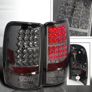 00 01 02 03 04 05 06 Chevy Chevrolet Tahoe, GMC Yukon, Yukon XL, Yukon Denali LED Tail Lights   Smoke (Pair) Automotive