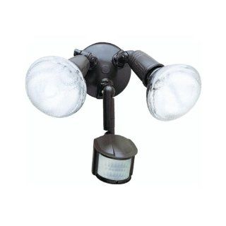 Cooper/Regent MS185 Motion Activated Flood Lights Bronze 120 Watt   Security Lights