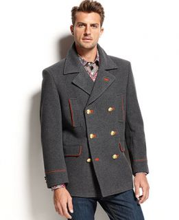 Tallia Orange Coat, Grey Wool Coat  Slim Fit   Coats & Jackets   Men
