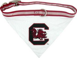 NCAA Dog Collar Bandana, Medium, University Of South Carolina Gamecocks  Sports Fan Pet Collars