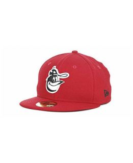 New Era Baltimore Orioles Red BW 59FIFTY Cap   Sports Fan Shop By Lids   Men