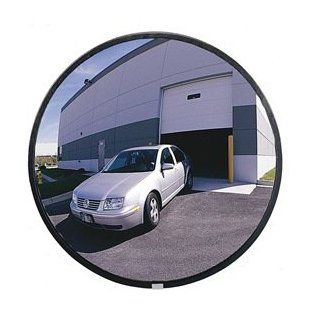 "See All Wide Angle Convex Shatter Resistant Glass Mirror   26"" Diameter   Outdoor   Industrial Safety Mirrors"