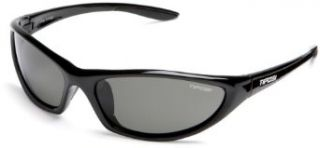 Tifosi Czar T P185 Sunglasses,Gloss Black Frame/Grey Lens,one size Clothing