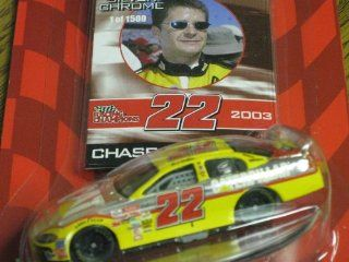 Racing Champions Chase the Race Collector's Series Silver Chrome Chase Car #22 Ward Burton Toys & Games