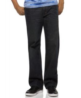 Levis 569 Loose Straight Leg Jeans, Ice Cap Wash   Jeans   Men