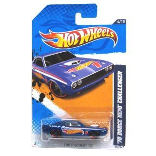 2012 Hot Wheels HW Racing '70 Dodge Hemi Challenger #174/247 Toys & Games