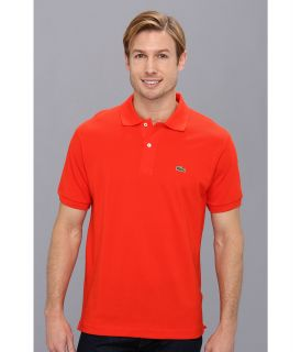 Lacoste Classic Pique Polo Shirt Volcanic Orange