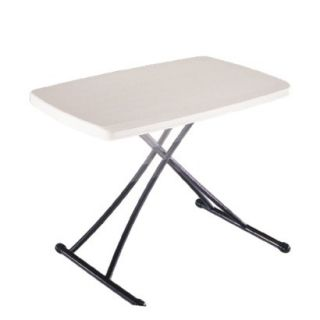 Lifetime Personal Folding Table   Almond