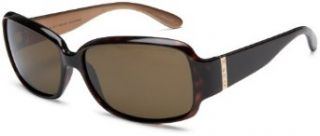 Marc by Marc Jacobs Women's MMJ 168/P/S Resin Sunglasses,Havana Bronze Frame/Brown Polarized Lens,one size Clothing