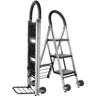 "Travel Smart By Conair TS31LHT ""Ladderkart"" Contractor Grade Stepladder & Folding Luggage Cart/Hand Truck Combination   Stepladder And Hand Truck"