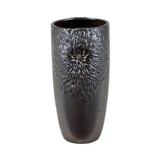 Large Bronze Ceramic Vase Urban Trends Collection Vases