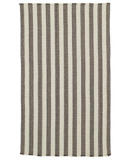 Capel Rugs, Hampton Flatweave 0404 350 Grey Stripe   Lighting & Lamps   For The Home