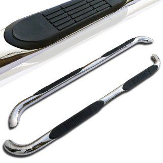 "Mercedes Benz Ml Class W164 Chrome 3"" Stainless Nerf Side Step Bars Automotive"